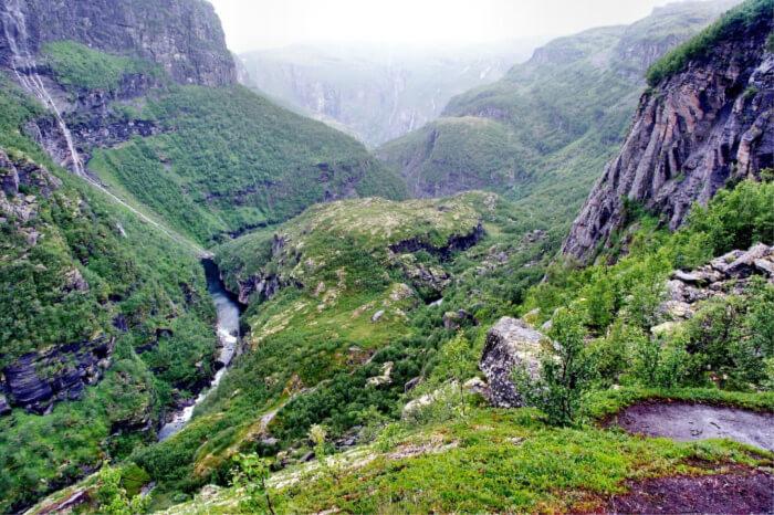 classic hiking area