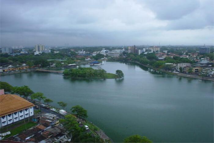 Beira Lake and Seema Malakaya