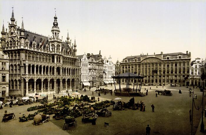 gorgeous European capital city