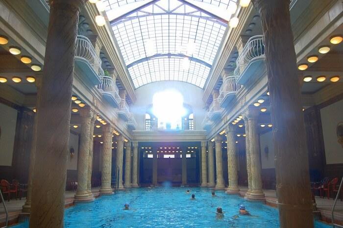 The age-old bathhouse
