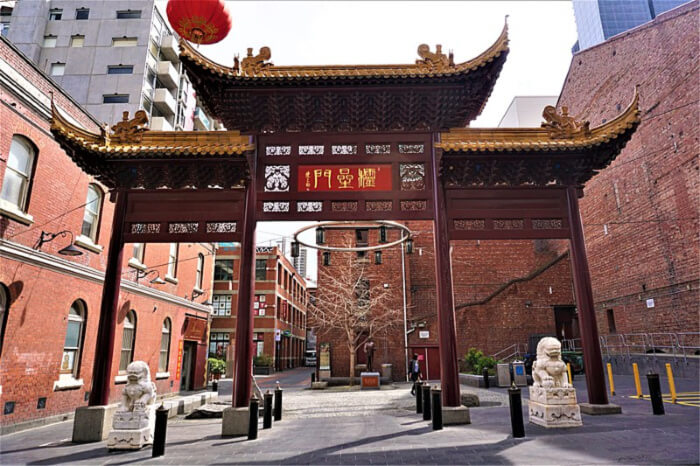 middle of Chinatown