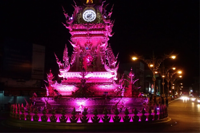Clock Tower of Chiang Rai