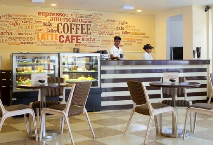 Coffee lovers can savour hazelnut coffee