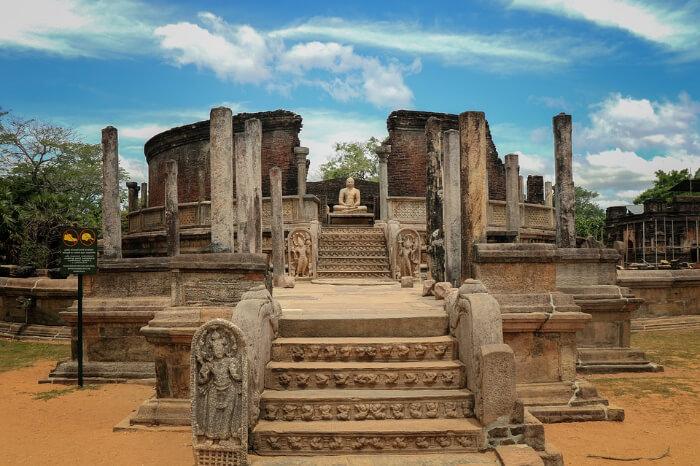 Polonnaruwa historical site