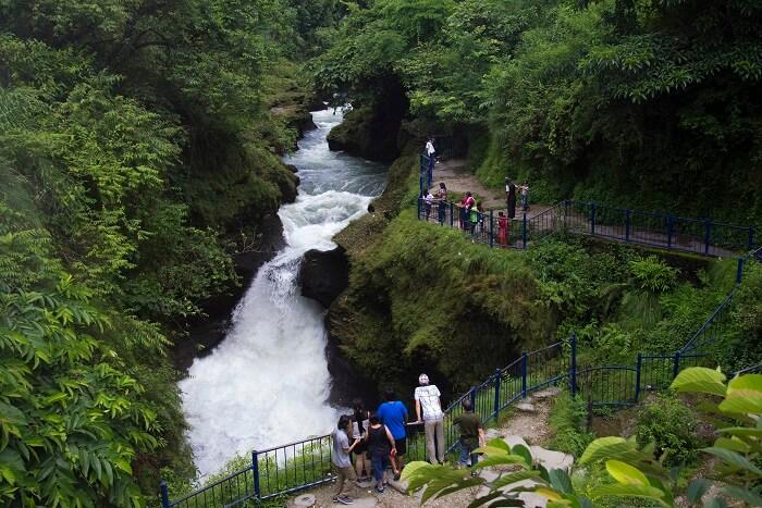 famous waterfalls in Nepal
