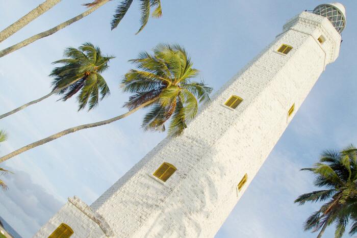 Dondra Head Lighthouse in Matara