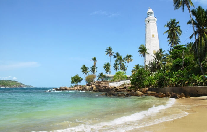 Dondra Lighthouse in Matara