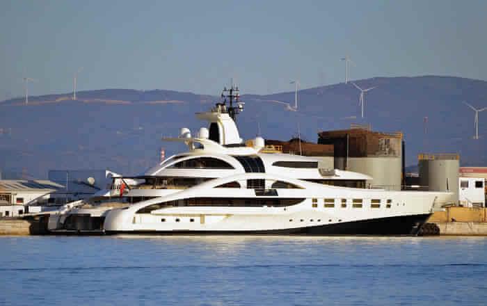 Stylish ship