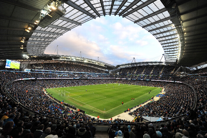 Manchester City's home ground