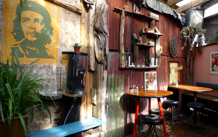Fidel's Café in Wellington