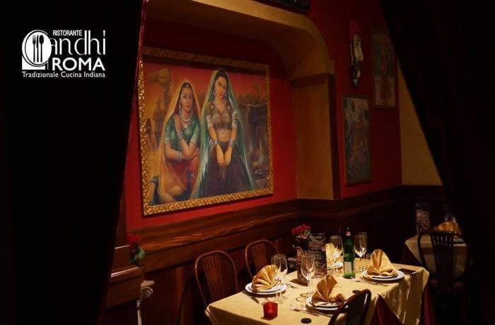 Gandhi Restaurant Rome, indian cuisine in rome, delicacies
