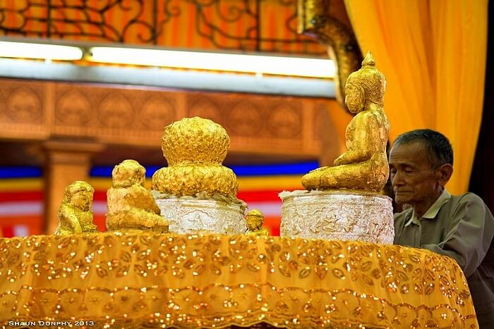 the magic in the hands of the artists of Myanmar