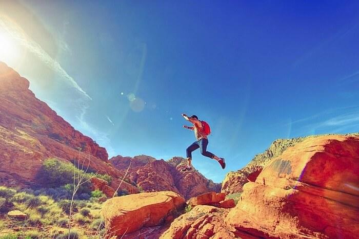Hike the wild terrain