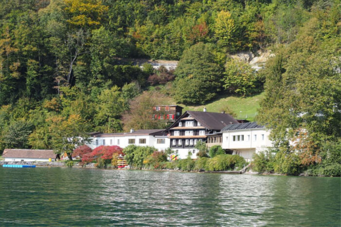 shores of Lake Lucerne