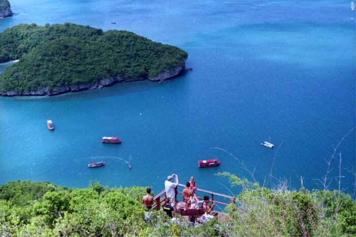 several boat companies from Koh Samu