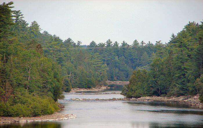 Kipawa River in Canada