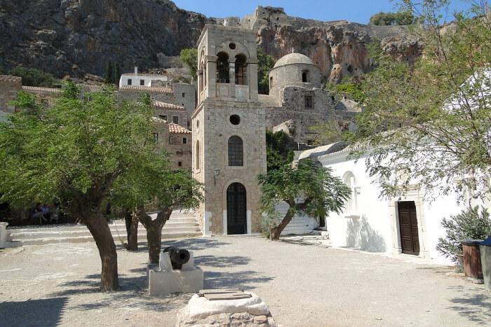 Look around Monemvasia Fortress