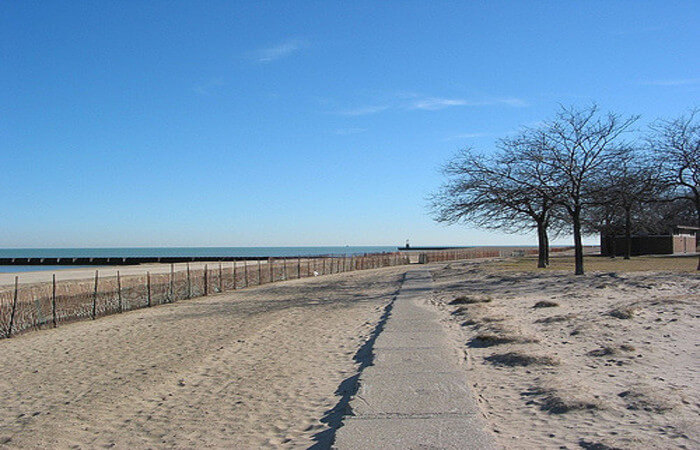 Beach in Chicago