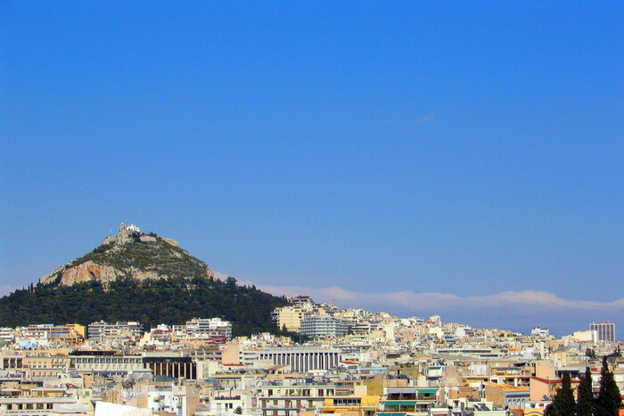 Overview of Lycabettus Hill
