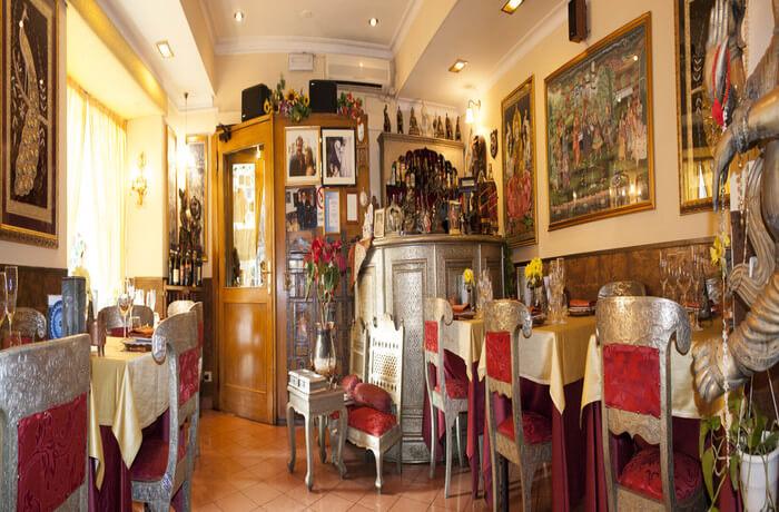 Maharajah, maharajah restaurnat in rome, indian cuisine