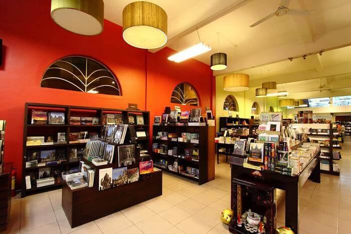 Monument Book Shop Vientiane
