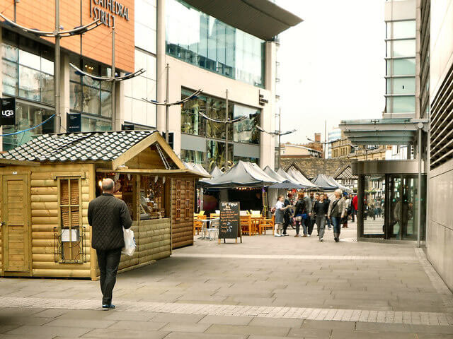 New Cathedral Street Market