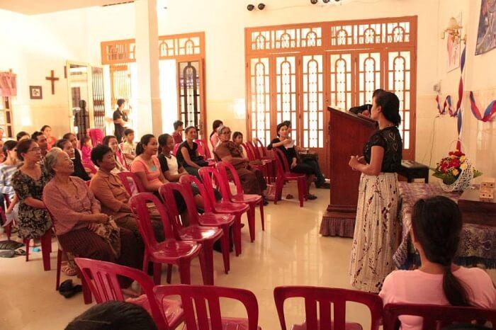 Baptist churches in Cambodia's capital