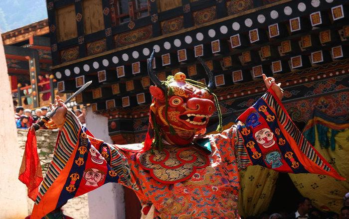 Festival in Jakar Dzong