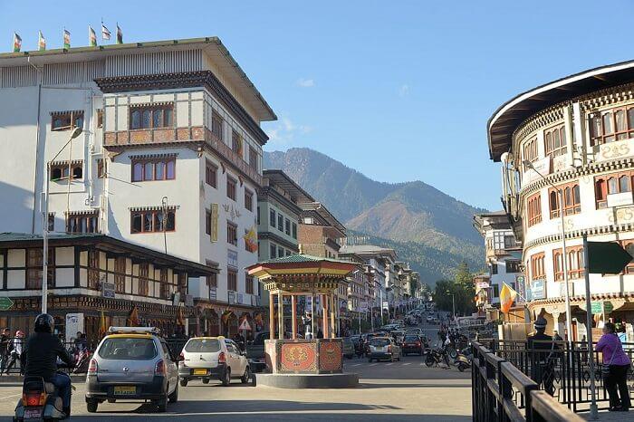 Norzin Lam Thimphu
