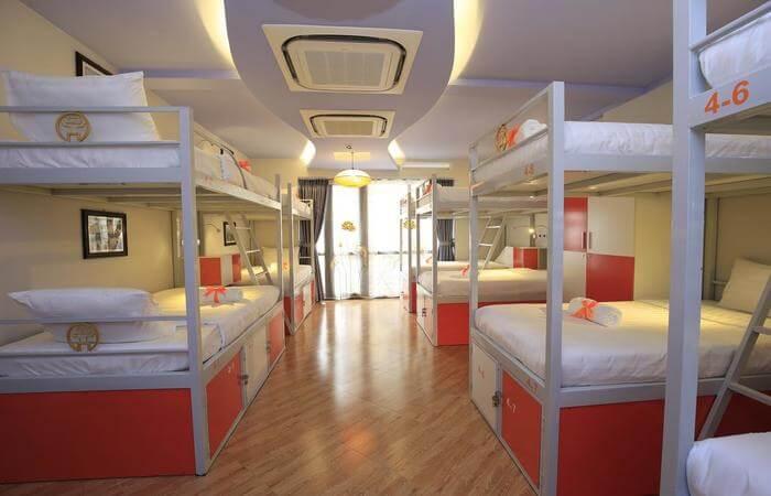 Inside view of hostel