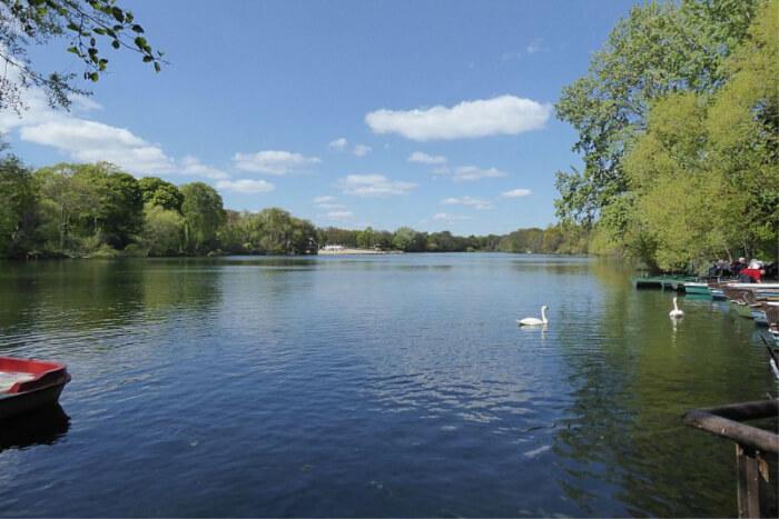 Plötzensee Lake