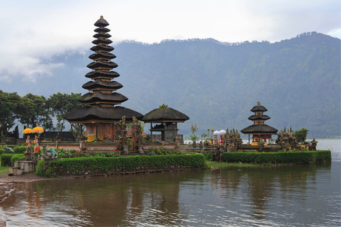 astounded by the creative Balinese architecture