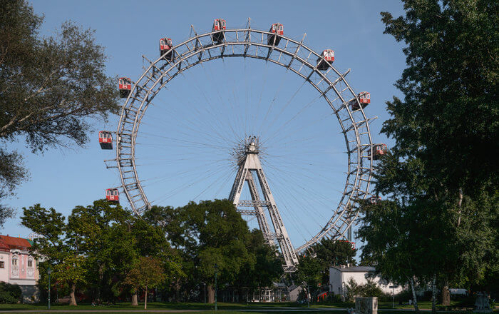 a large wheel