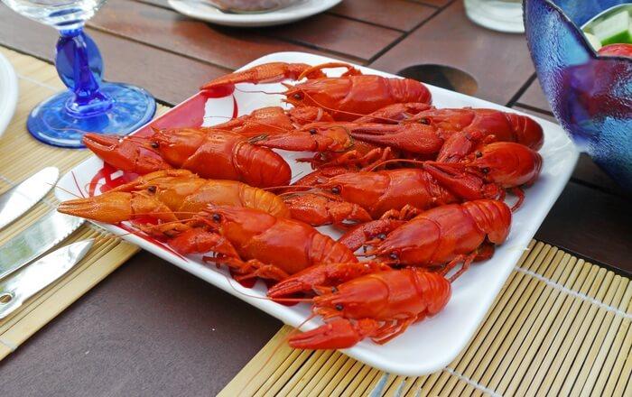 Fry Lobsters