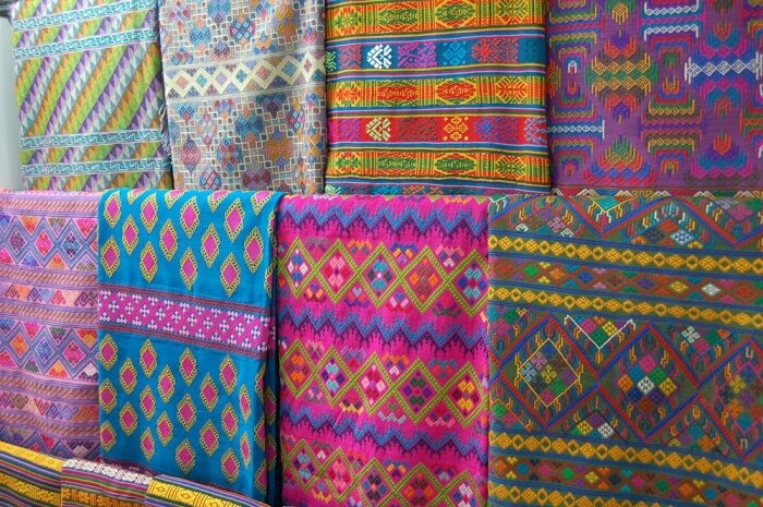 beautiful colours, the magic of handmade textiles