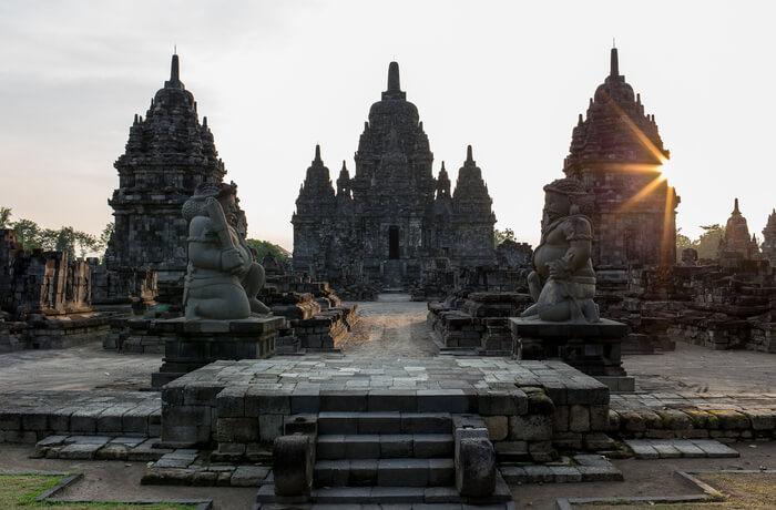 Sewu Temple in Yogyakarta