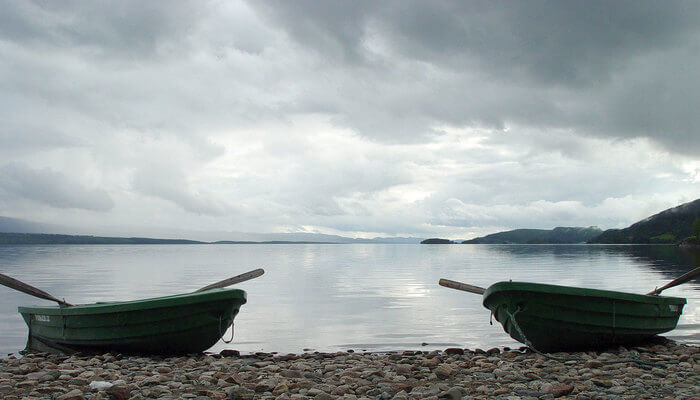 Snasavatnet lake