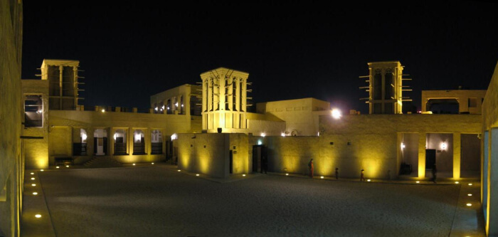 Some basic information about the Sheikh Saeed Al Maktoum House