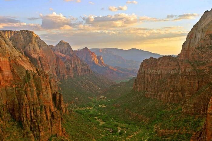 natural picturesque surroundings