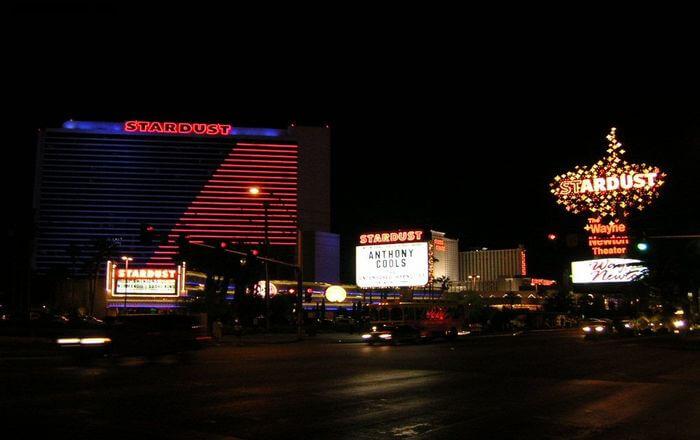 Night view of Casino
