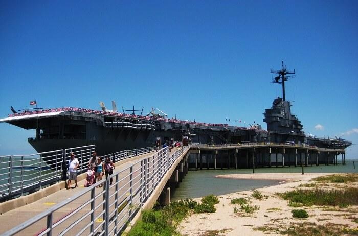 The USS Lexington, Corpus Christi
