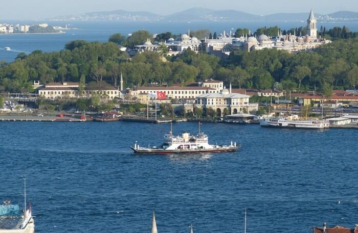lake and boat View