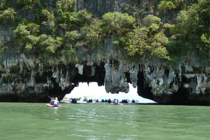 Visiting Phang Nga National park
