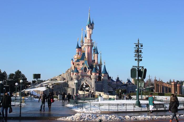 Deserted Disneyland