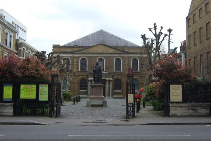 Wesley's Chapel & Museum- A beautiful Methodist church