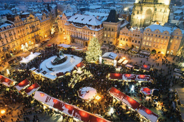 Witness the Prague Christmas markets