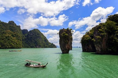 take a boat tour
