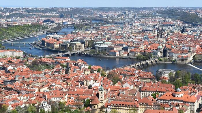 beauty of Prague