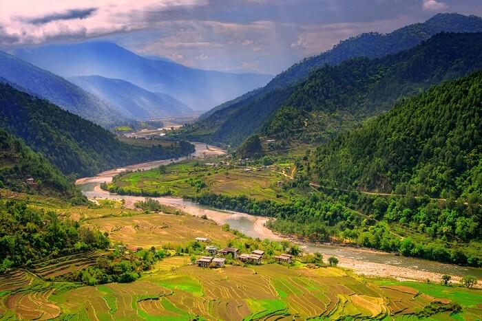 bhutan honeymoon places