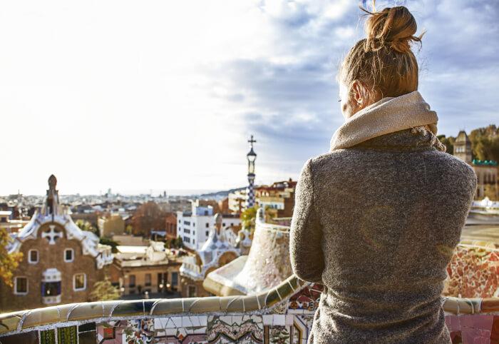Major attractions of Barcelona in winter